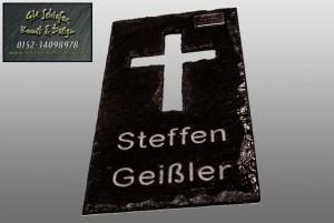 Trauerplatte