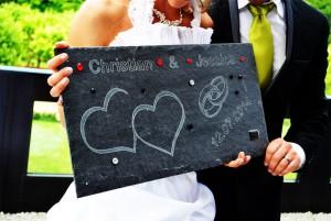 Hochzeitsplatte
