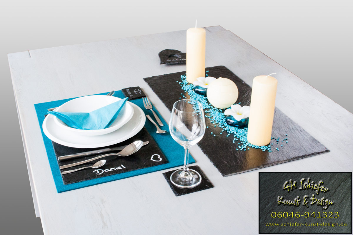 Tischdeko, Platzset & Tischset