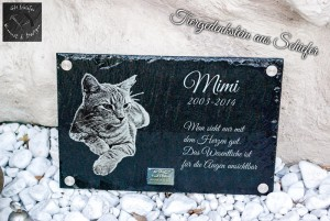 Mimi Katzen-Tiergedenkstein-Tiergrabstein