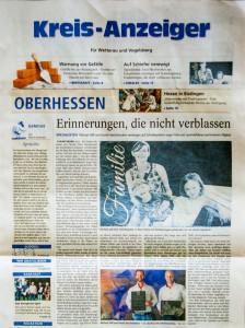 Artikel im Kreis-Anzeiger über GH-Schiefer, Kunst & Design und Michael Hilß und Daniel Geschwindner