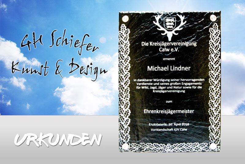 Schiefer-Urkunden