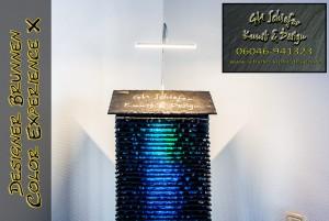 Designer Brunnen aus Schiefer