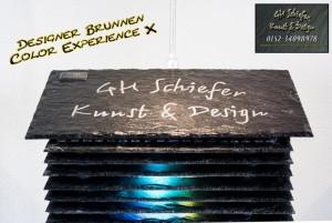 Schiefer Designerbrunnen